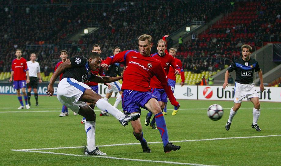 CSKA Moscow vs. Manchester United