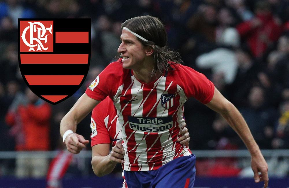 Filipe Luis Atletico Madrid Flamengo