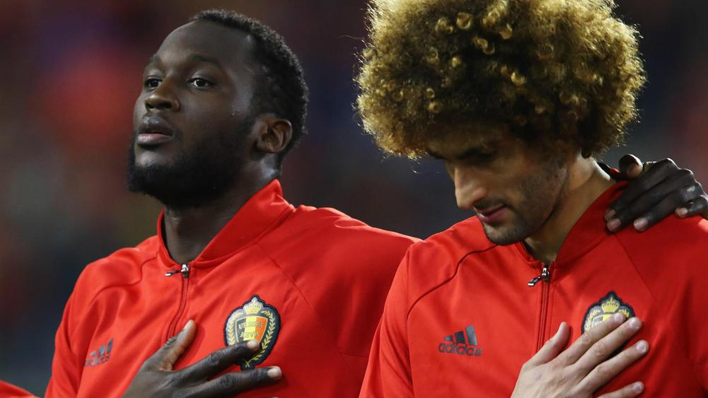 Romelu Lukaku and Marouane Fellaini - cropped