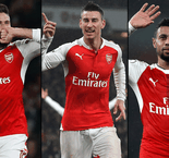 French trio extend Arsenal deals