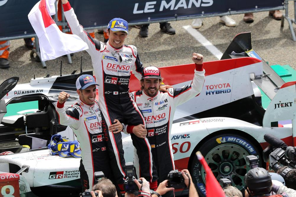 Fernando Alonso's Toyota wins Le Mans 24 Hours after dominant display