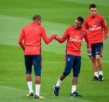 Neymar, Mbappe train together for the first time