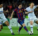 Messi wants Milan giants back in the Champions League