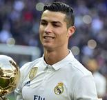 Ronaldo honoured by former Ballon d'Or winners at Bernabeu