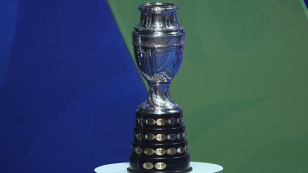 copa america trophy - cropped