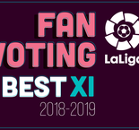 Fan Voting: 2018-19 LaLiga Best XI