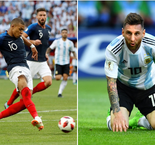 Mbappe's France Star Rises As Messi And Argentina Fall