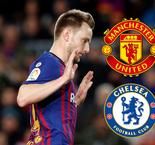 Report: Manchester United And Chelsea Contact Rakitic