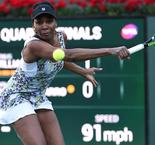 Venus into Indian Wells semis