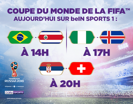 La Coupe du Monde sur beIN SPORTS