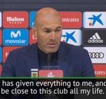 Best of Zidane's farewell press conference