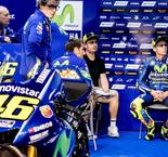 Valentino Rossi Not Up to Par With New Teammate Viñales