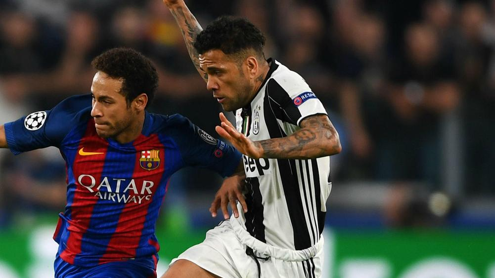 The lion's den that is Camp Nou awaits Juventus, warns Dani Alves