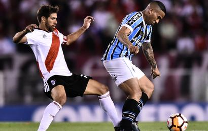 River Plate 0 Gremio 1  Michel header gives Brazilians edge in semi ec47da6a394d2