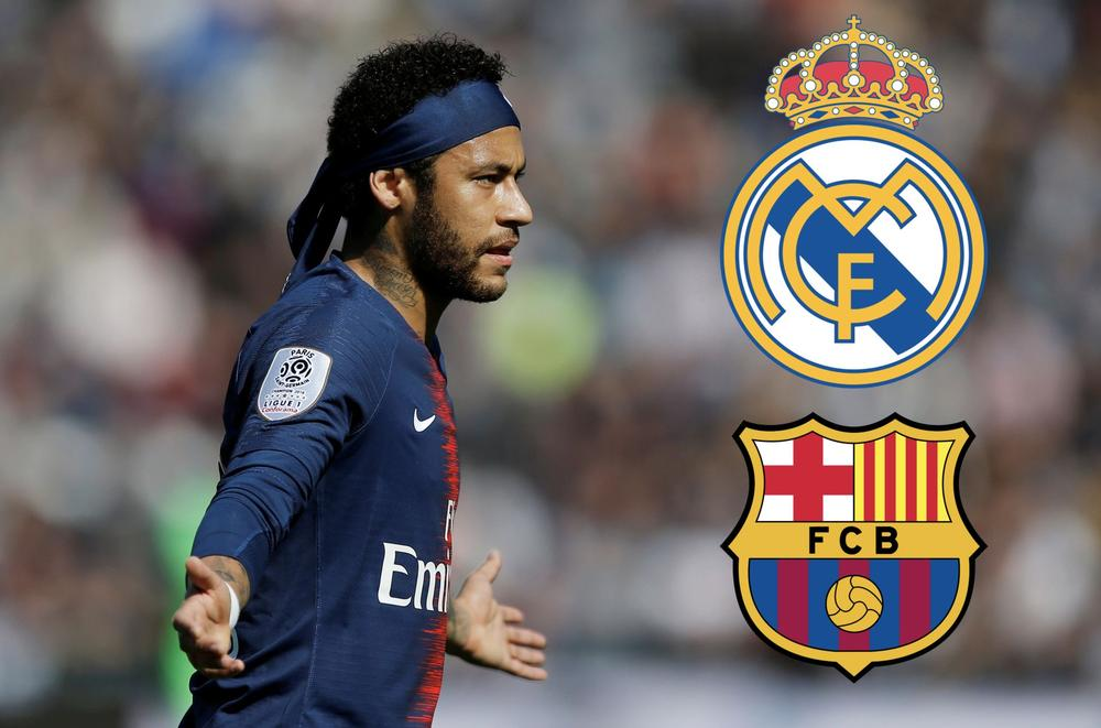 Soccer Football - Ligue 1 - Angers v Paris St Germain - Stade Raymond Kopa, Angers, France - May 11, 2019 Paris St Germain's Neymar reacts | Real Madrid and Barcelona | beIN SPORTS