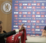 Conte Given Mourinho-Signed Shirt In Prank