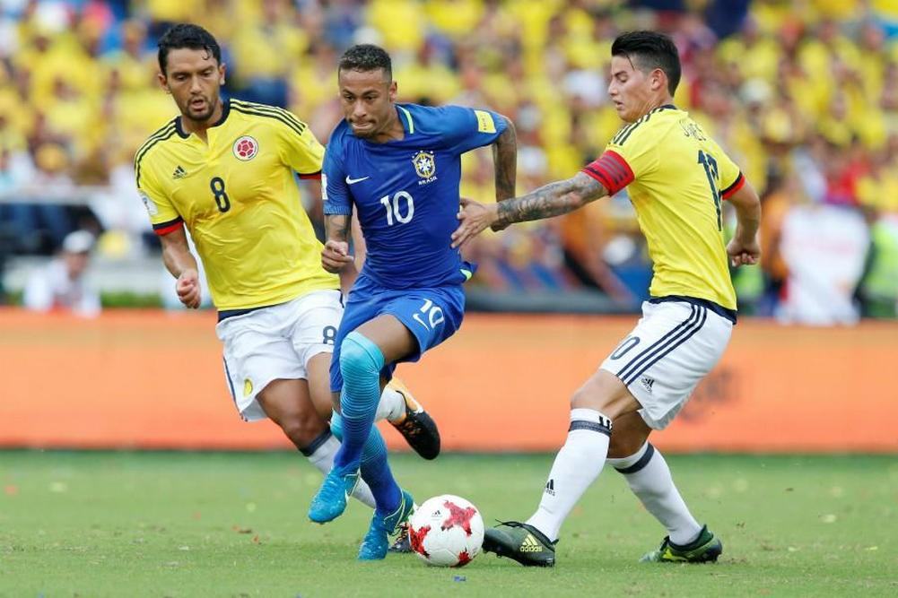 Qualifications du Mondial 2018: Le Brésil accroché à Barranquilla en Colombie