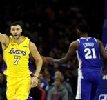GAME RECAP: Lakers 107, 76ers 104