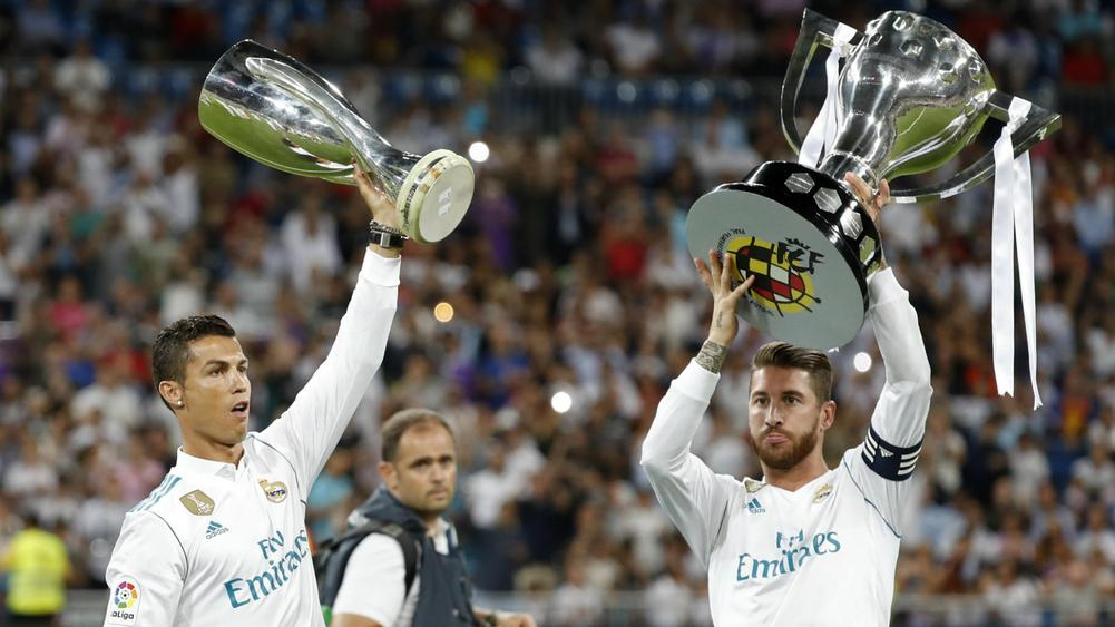 002ce4a3b Sergio Ramos paid homage to former Real Madrid team-mate Cristiano Ronaldo  following Juventus move.