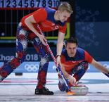 Curling - ROUND ROBIN HOMMES, SESSION 7:  Norway 10 Denmark 8