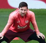 Messi resumes full training with Barcelona