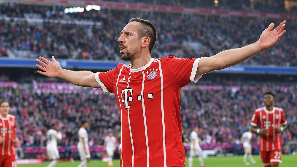 ribery signs new deal with bayern munich. Black Bedroom Furniture Sets. Home Design Ideas
