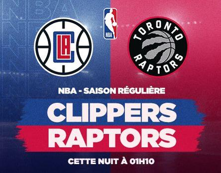 Clippers @ Raptors