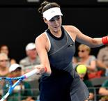 Australian Open hopeful Muguruza retires in Brisbane