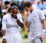 Serena and Murray thrill in mixed doubles