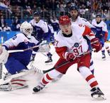 Hockey Sur Glace -	Hommes: Slovakie 3 Russie 2