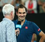 Everything working well for defending champion Federer