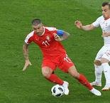 2018 FIFA World Cup- Switzerland beat Serbia to join Brazil in Group E qualification contention