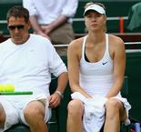 Sharapova splits with long-time coach Groeneveld amid struggles