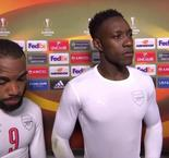 Welbeck and Lacazette staying positive