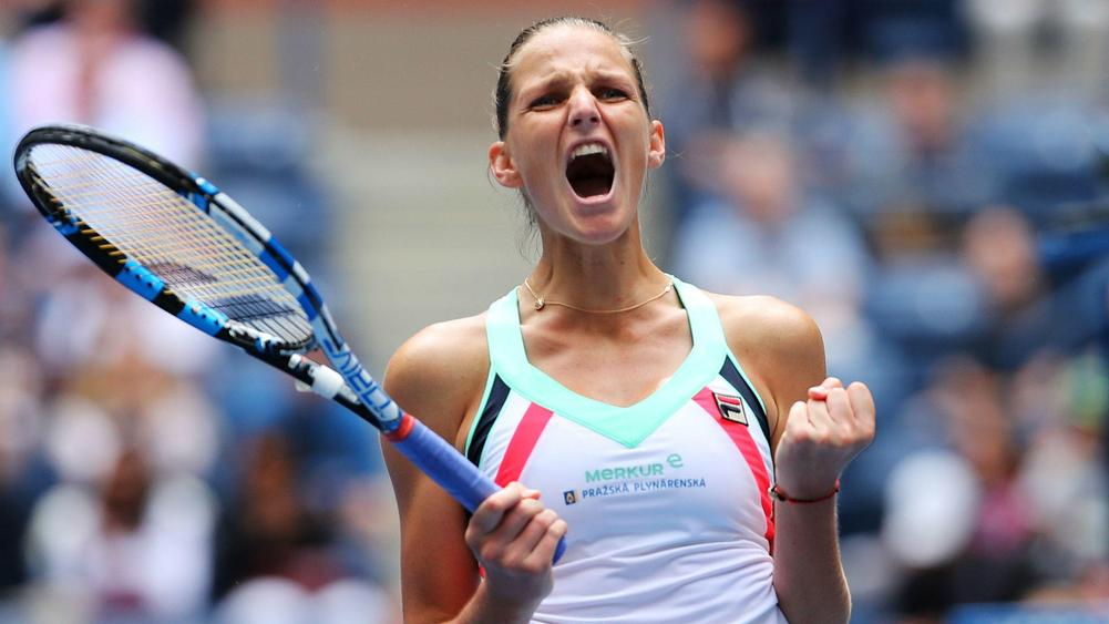 Top seed Karolina Pliskova needs just 47 minutes to make U.S.  quarters