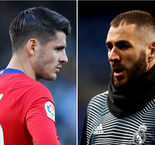 Benzema And Morata's Different Paths To The Madrid Derby