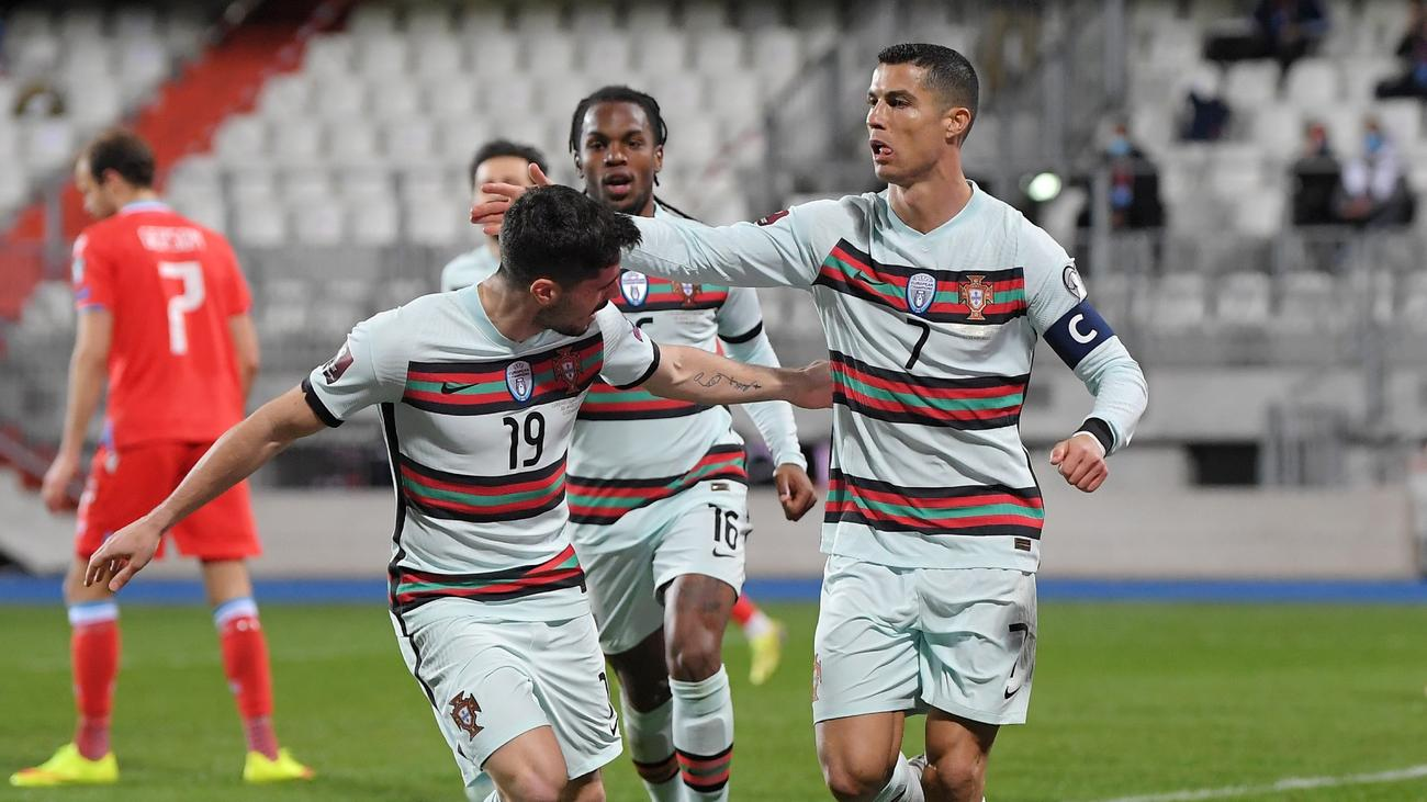 Luxembourg 1-3 Portugal: Ronaldo puts Serbia frustration behind him in  comeback win