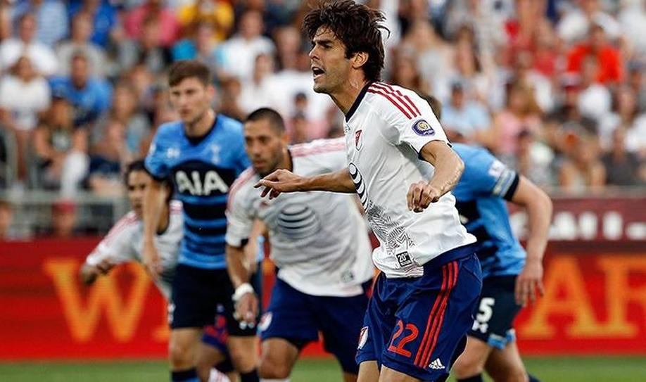 MLS All-Stars 2-1 Tottenham: Kaka shines brightest in showpiece event