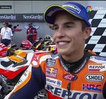 On-The-Limit Marquez Comes Up Just Short