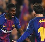 Barcelona 3 Chelsea 0 (4-1 agg): Ton-up Messi blows Blues away