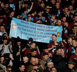 West Ham Fans Compare Club Owners To Hitler