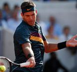 Del Potro out of Wimbledon after another kneecap fracture