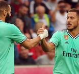 Eden Hazard's stunning first ever goal for Real Madrid