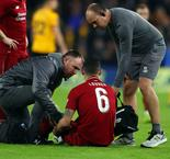 Klopp assessing Lovren 'minute by minute' ahead of Bayern