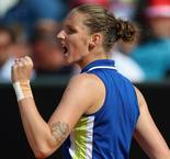 Pliskova beats Sakkari in Rome repeat