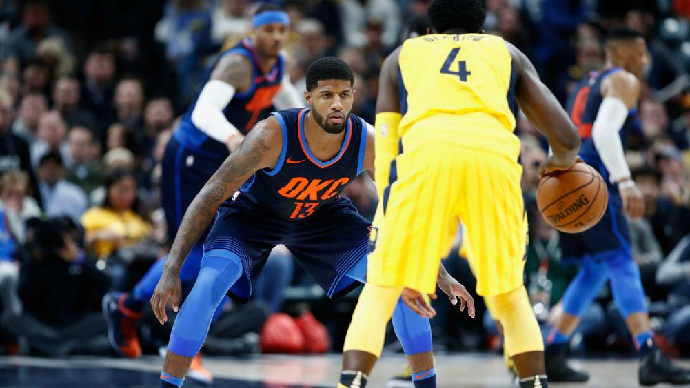 Thunder vs. Pacers: Score, updates, highlights as Paul George returns to Indiana