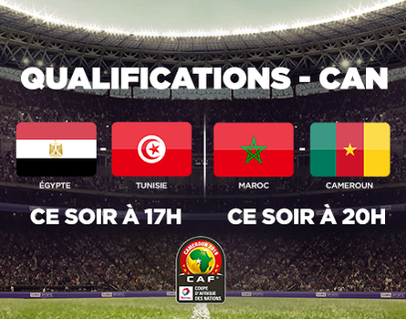 Les qualifications pour la CAN  sur beIN SPORTS