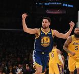 Golden State tranquille face aux Lakers