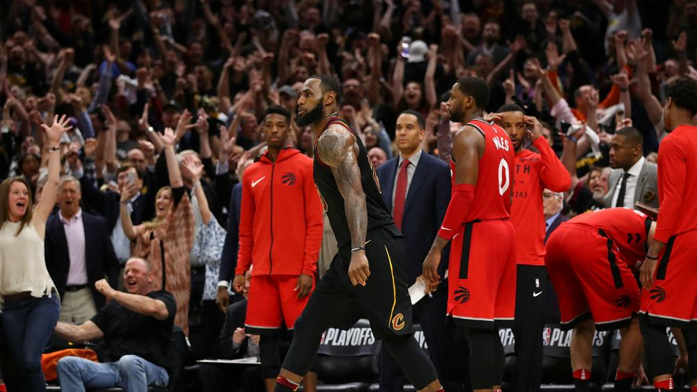 Don't try it at home! LeBron James revels in buzzer ...