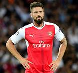 Arsenal without Giroud for cup clash
